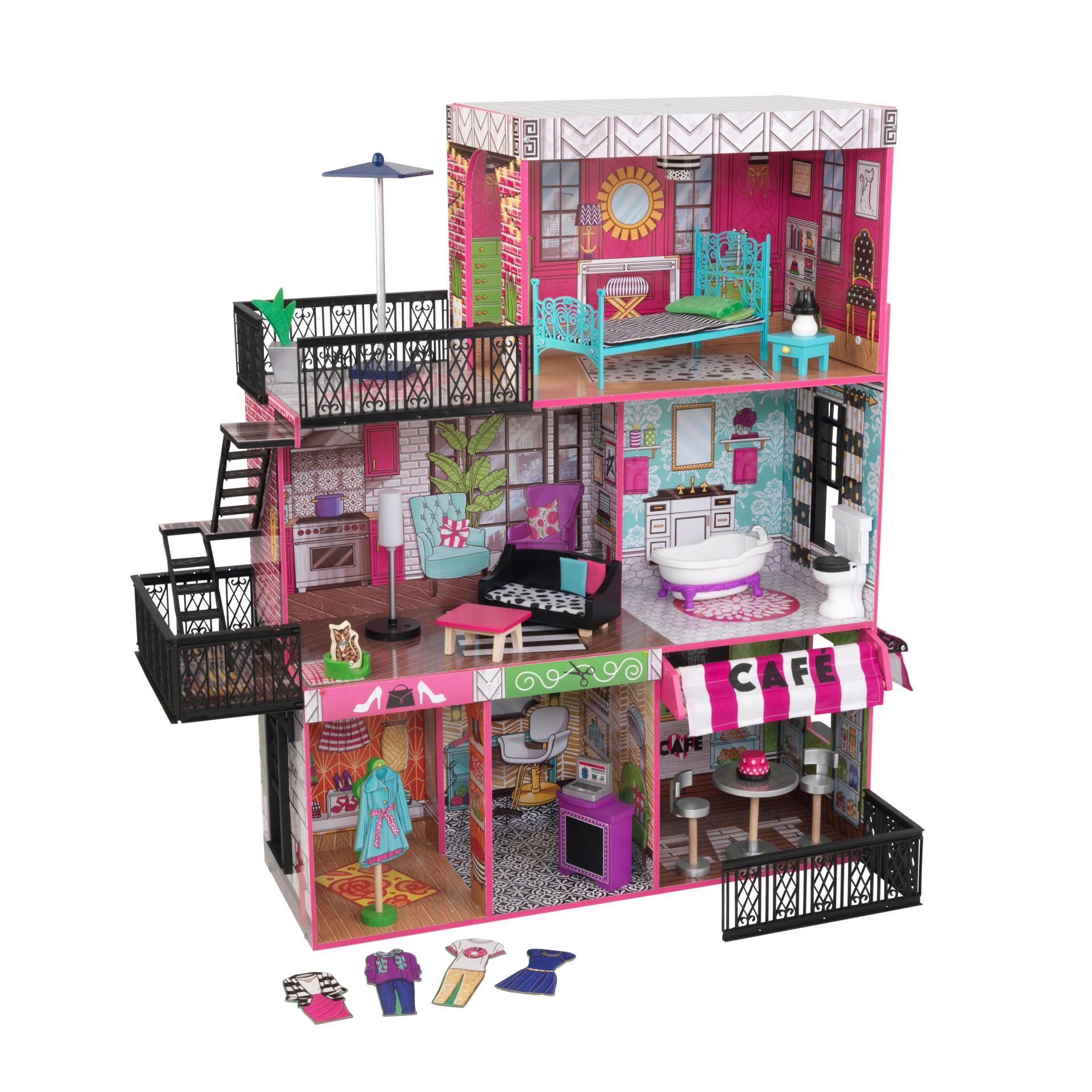 KidKraft domček pre bábiky Brooklyn