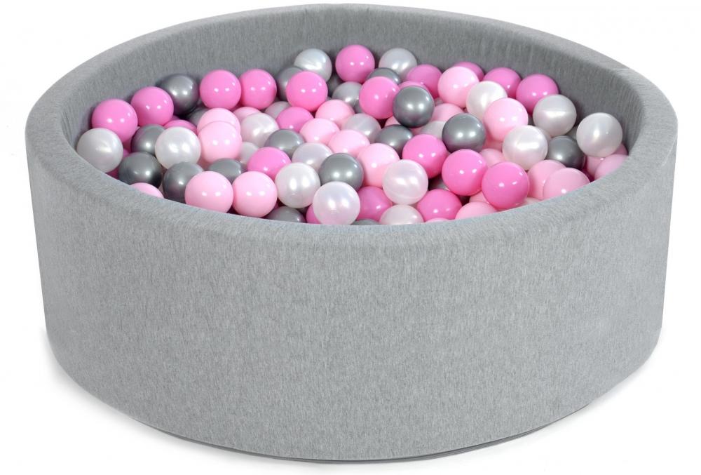 Suchý bazén s loptičkami sweet pink